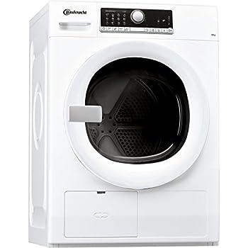 Bauknecht TR Move 81 A3 Wärmepumpentrockner / Energieklasse A+++ / 8 kg / Startzeitvorwahl / Verbesserter Knitterschutz / Supersanft Programm für sehr empfindliche Textilien / WoolPerfection / weiß