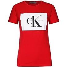 Calvin Klein Camiseta con Logo para Mujer