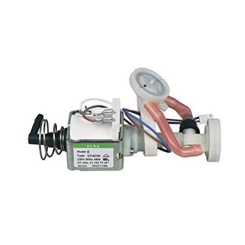 Bosch Siemens 12008609 ORIGINAL Wasserpumpe Elektropumpe Pumpe ULKA 48W 230V mit Pulsationsdämpfer...