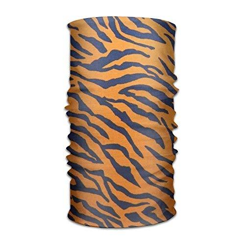 Tiger Stripe Animal Solid Moisture Wicking Headband - Adults And Youth Elastic & Dry Fast Sweatband Bandana