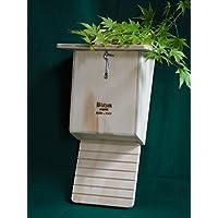 Bat box Profesional antimosquitos inspeccionable para arboles, casita para murciélagos Blitzen