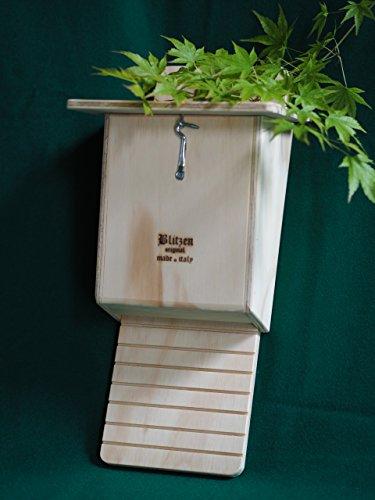 Bat Box professionale Blitzen Ispezionabile ideale per gli alberi e da parete Made in Italy 100%