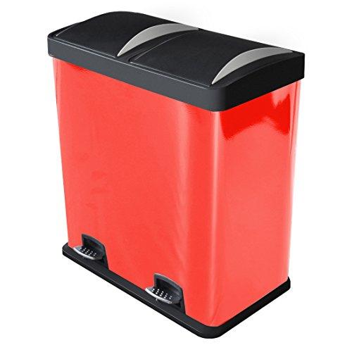 harima-60-litros-cubo-de-basura-de-acero-recubierto-de-polvo-rojo-basurero-reciclaje-dos-compartimen