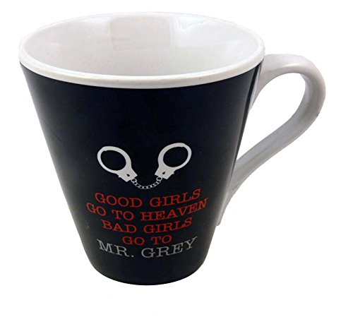 50Shades Of Grey Mug Tasse avec inscription Good Girls Go to Heaven Bad Girls Go To Mr Grey