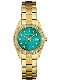 Caravelle New York 44M109 - Reloj de pulsera Mujer, Acero inoxidable, color Oro