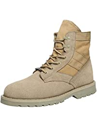 Fashion Men's Warm Winter Waterproof Sport Ankle Desert Combat Running Work Sneakers Jogging Trainers Flat Martin Chelsea Boots Outdoors Climbing Casual Shoes Comfy Footwear Athletic Walking