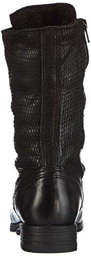 NOBRAND  Outcast, Bottes Classics hautes, doublure chaude femme Noir - Schwarz (black fish 16)
