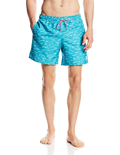 Jack & Jones Tech Herren Schwimmhose Csoothe Swimshorts türkis(Bluebird)
