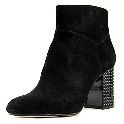 MICHAEL Michael Kors Women's Arabella Ankle Boot Black Kid Suede/Black Crystal 5.5 M