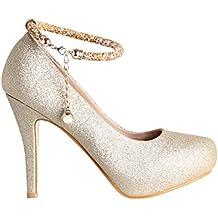 Zapatos plataforma baratos for Zapateros baratos amazon