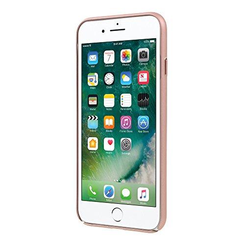 iPhone Silikon TPU Schutzhülle mit weiß Bumper Ständer Rahmen + 2Displayschutzfolie, blau, iPhone 6S/6 [PLUS] rose gold