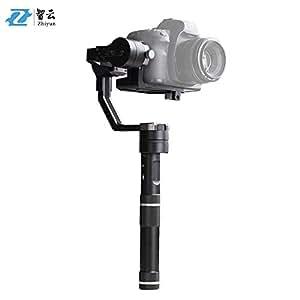 Zhiyun Crane Pro 3 Assi Gimbal Stabilizzatore Palmare per Sony A7 Series per Panasonic Lumix serie per Canon Serie M per Nikon J Series Mirrorless Fotocamere ILDC Telecamera Payload Peso 350g-1200g
