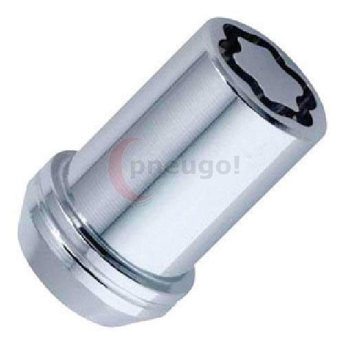 Mc GARD 25240 Tuner Roue Écrous de verrouillage, Chrome, Dia 20,2 mm