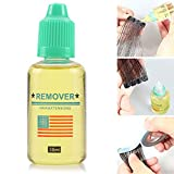 Cherishly 3 PCS Super Hair Bond Remover Glue Remover Bottle Skin Weft Tape Lace Wig Toupee bearable nice-looking