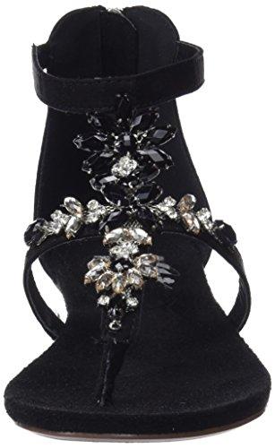 Xti 47752, Sandales Bride Cheville Femme Noir (Black)