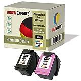 Pack de 2 XL TONER EXPERTE® Cartuchos de Tinta compatibles con HP 301XL para DeskJet 1000 1050 1050A 1055 2000 2050 2050A 2050S 2050SE 2054A 2510 2540 3000 3050 3050A 3050SE 3050VE 3052A 3054A 3055A