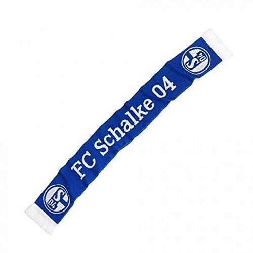 FC Schalke 04Classic bufanda, color blanco azul, L