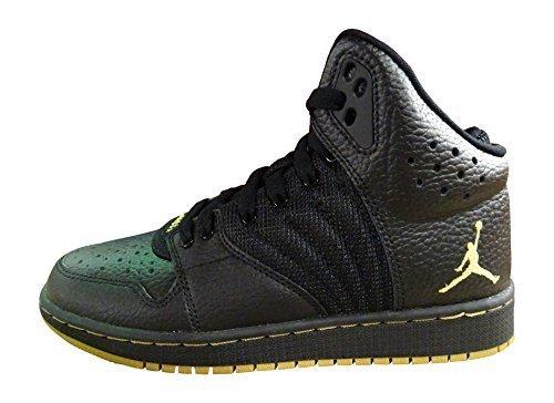 NIKE MTLC Gold-Black, Chaussures de Basketball garçon