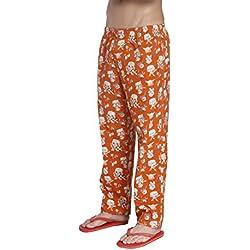 Jack & Jones Men's Cotton Pyjamas (12123265_Large_Orange)