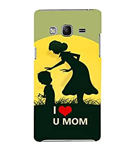 FIOBS I Love You Mom Designer Back Case Cover for Samsung Galaxy Z3 Tizen :: Samsung Z3 Corporate Edition