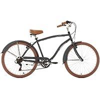 KS Cycling Herren Fahrrad Beachcruiser Cruizer, anthrazit, 26