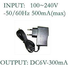 Netzteil 6V//300mA f/ür G/&G Waagen PSE,PSB,PLC 300g-6kg ,KF