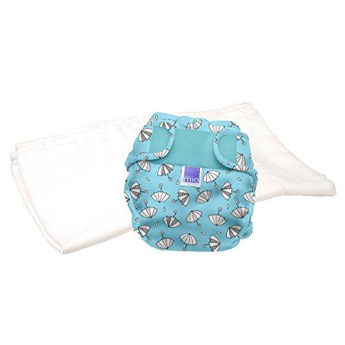 Preisvergleich Produktbild Bambino Mio, miosoft zweiteilige windel (probepackung), regentage, Größe 2 (9kg+)
