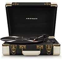 Crosley Executive Vinyl Portable Turntable Record Player with Bluetooth - Black