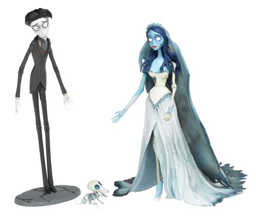 Corpse Bride and Victor 7 Figures (Victor Corpse Bride,)