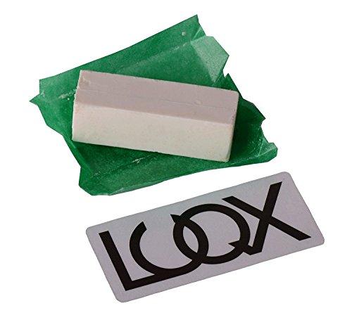 LUQX Schleifpaste für Rasiermesser | Schärfpaste, Striechriemenpaste, Abziehpaste für Messer