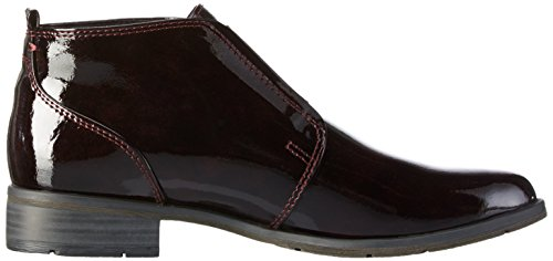 Marco Tozzi Damen 25303 Kurzschaft Stiefel Rot (MERLOT 537)