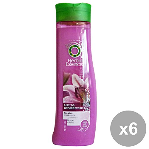 set-6-herbal-essence-shampoo-lisci-da-accarezzare-250-ml-prodotti-per-capelli