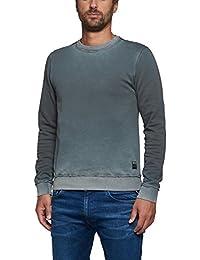 Replay Men's Men's Petrol Grey Sweatshirt 100% Cotton