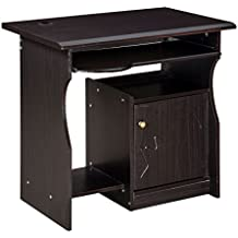 Royal Oak Amber Small Computer Table (Black)