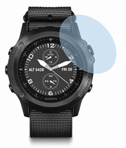4ProTec 2 Stück GEHÄRTETE ANTIREFLEX Bildschirmschutzfolie für Garmin tactix Bravo Displayschutzfolie