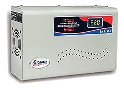 Microtek EM5130+ Digital Display Voltage Stabilizer For AC upto 2 ton (130-300V)