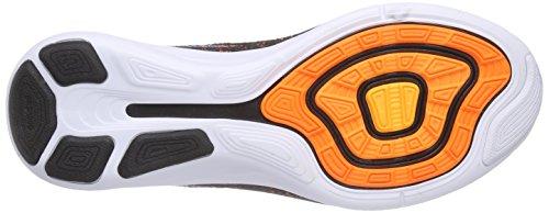 Nike Uomo Flyknit Lunar3 scarpe da corsa Multicolore (Mehrfarbig (Ttl Orange/Blk-Bl Lgn-Lsr Orng 801))