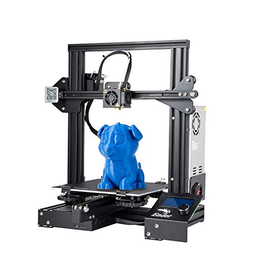 Creality - stampante 3d ender-3, 220 x 220 x 250 mm, supporto in pla, abs, tpu