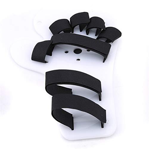 Bigsweety Einstellbare Fingerschiene Erwachsener Schlaganfall Anti Kontraktur Fingerabscheider Palm Protector Handed Handschuh Palm Protector