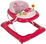 Hauck Player - Andador con mesa de juego, diseño Minnie, color rosa