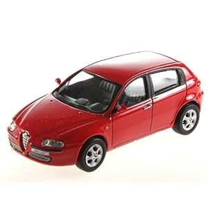 Voitures miniature Alfa roméo 147 1/43. - Rouge