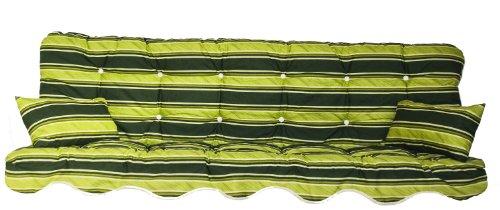 Polsterauflage Gartenstuhlauflage Modell 870 (150 x 50 cm Hollywoodschaukelauflage)