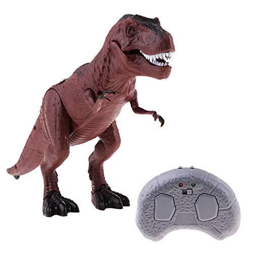 enung Dinosaurier Spielzeug mit Geräusch und Licht Figur Dekoration Kindergeburtstag Party - t-Rex ()