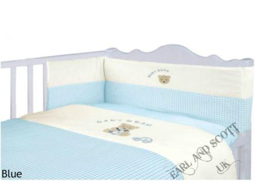 E&S Boys Nursery Bedding Blue & ...