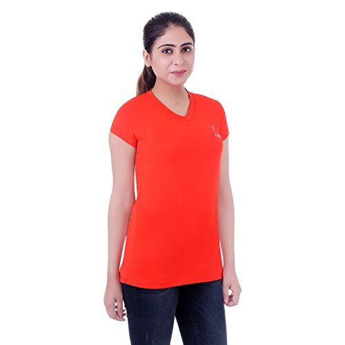 Fitoor Women's Cotton &\u00A0Lycra Casual Half T Shirt