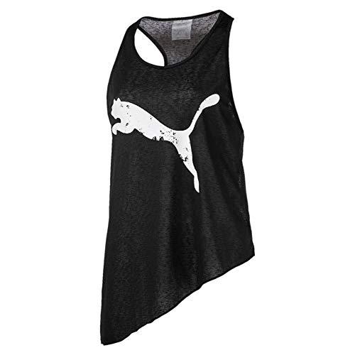 Puma A.C.E. Slogan Tank Top, Mujer, Black, M