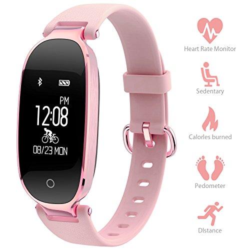 ee68dad99462d Montre Connectée Sport Fitness Tracker d'Activité Montre Étanche IP67  Bracelet Intelligent Podomètre Calories Sommeil-Bluetooth 4.0 Smart  Traqueur ...