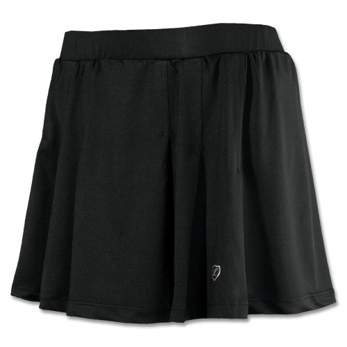 Damen Tennisrock Skort Fancy Schwarz