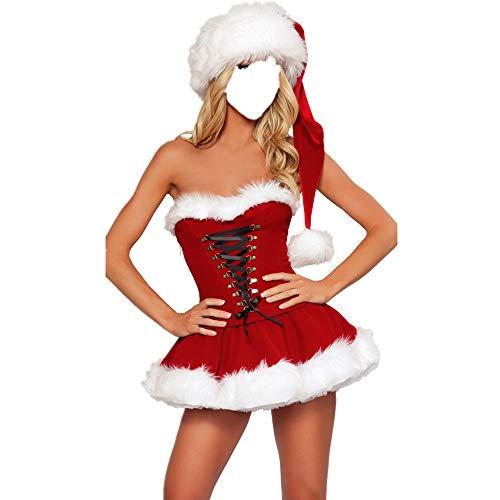 Dame Hunde Kostüm Alte - Karneval Weihnachten Sex Performance Kostüm Sexy Dessous Cosplay Kostüm Rollenspielkostüme