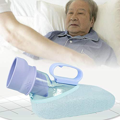 Urinal Chunlan 1000ML Männer, mit Deckel, Anti-Überlauf, Griff einfach zu handhaben, mit Pinsel, kann verwendet Werden oder hinlegen